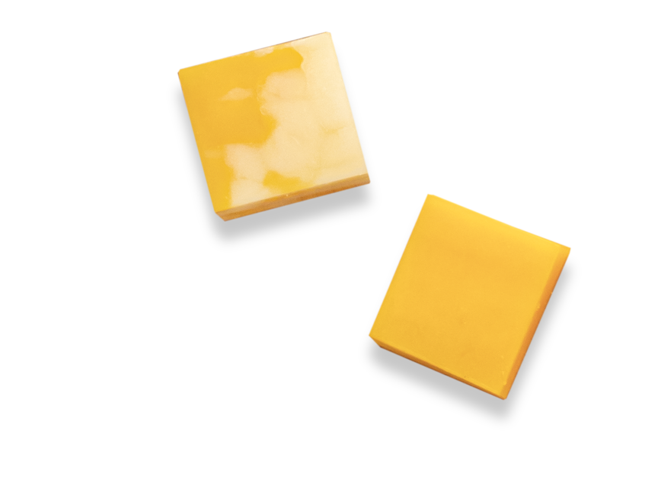 Slices of Wisconsin's Finest Cheddar Cheese