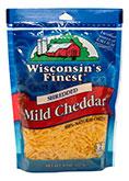 8oz mild cheddar shred