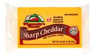 16oz Sharp Cheddar CHunk